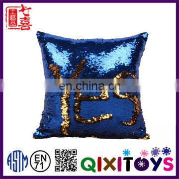 Cheap sequin fabric mermaid pillow cover from China factory