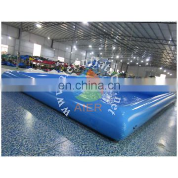 blue inflatable swimming pool, big pool for sale
