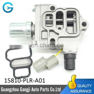 Engine Variable Valve Timing Solenoid VVT Valve OEM 15810-PLR-A01 15810PLRA01 For Honda Civics 2001-2005 VTEC I4 1.7L