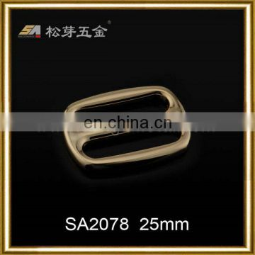 Accept Alibaba Trade Assurance Customised Adjustable Buckle Supplier, Plated Leather Tri Glide Buckles