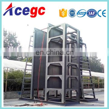 River bucket gold dredger mining equipment