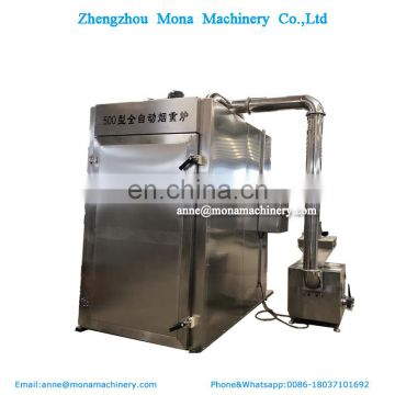 500model Stainless Steel Meat Smoking Machine Bacon/Dried pork/Beef smoke oven smoking drying oven