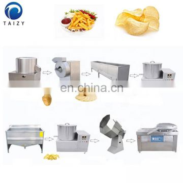 potato chips manufacturing machinery frozen french fries processing plant french fries line