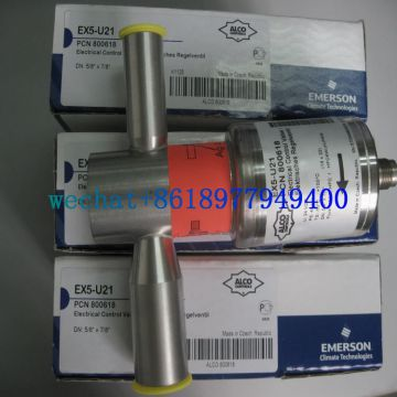 EMERSON types EX7-I21,EX8-M21 and EX8-I21 Electrical Control Valves