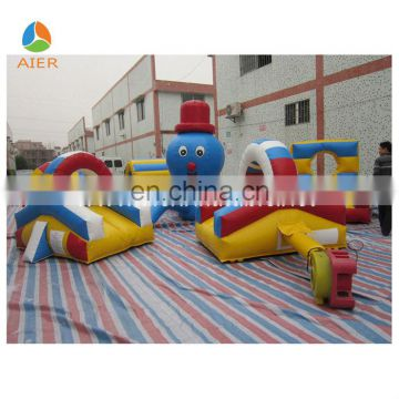 Newest Octopus Inflatable Surround Obstacle Interactive Game