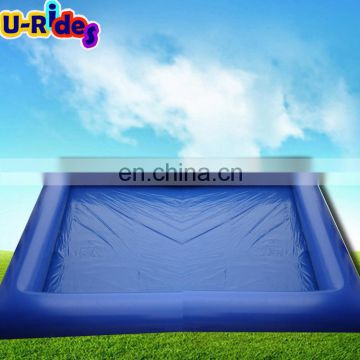 Non toxicity PVC inflatable sport square splash pool For kids