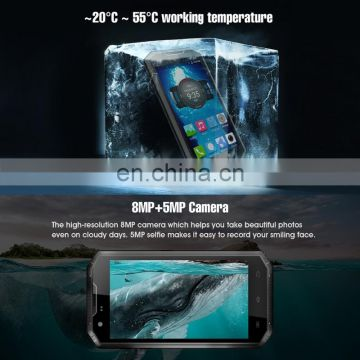 2018 Waterproof 3G Phone W5S 4 inch Android 6.0 Quad Core RAM 1GB ROM 8GB Android 6.0 2800mAh Battery