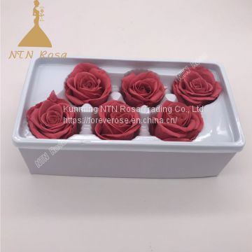 Dried Flowers, Flower Box For Preserved Roses, Preserved Rose Flower