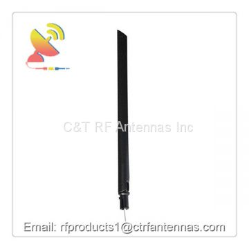 Omnidirectional Dipole Antenna Wifi 2.4 GHz Antenna with Pigtail Antenna Extender RG Cable