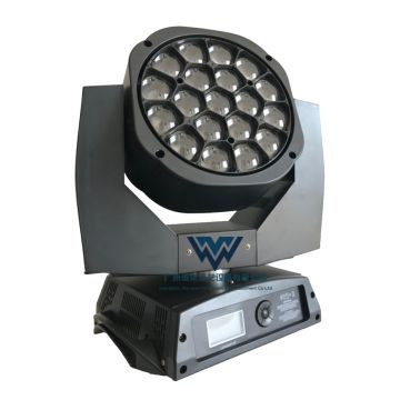 Moving Head Wash Zoom 19 pcs 15W LED Big Bee Eye Light Theater Lights