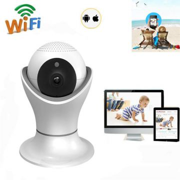 Security Smart Home CCTV System 2.0MP WiFi Super Mini Infrared IP Camera