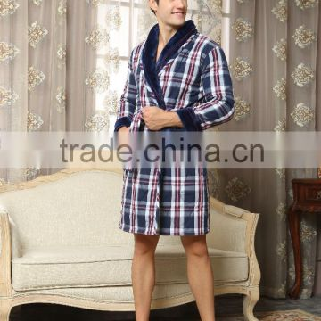 2016 new products men heavy cool bathrobe