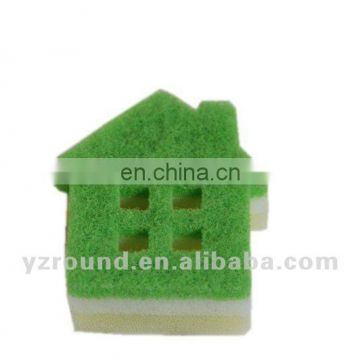 Lovely shape high quality kitchen cleaning sponge