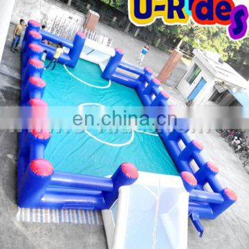 2 in 1 Basketball and Football Inflatable Sports Arena for Carnival