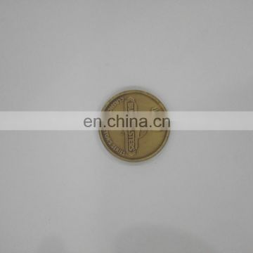 plated color coin fiesta medal