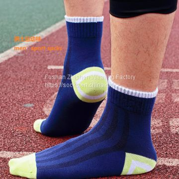 sport  socks, OEM ODM socks manufacturer , cotton sport men socks