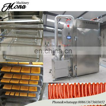 008613673603652 Good Feedback food smoked machine/ smoked chicken/ duck oven machine