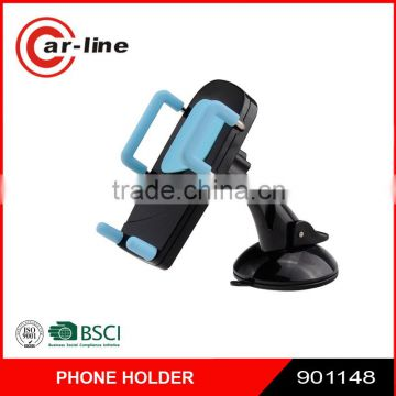 2016 High Quality 360 Rotation Universal Car Cell Phone Holder Windshield & Dash Mobile Mount with Strong Sticky Suction Cup