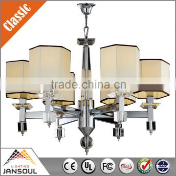 2015 hot sale glass home decorative chandelier lights