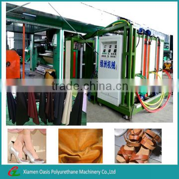 Polyurethane synthetic/artificial leather machine/Equipment