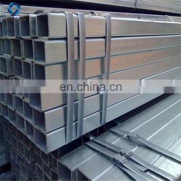 ASTM A500 Hot Dipped Zinc Coating 30-340g Galvanized Steel Tubes