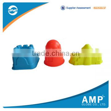 Promotional cheap plastic castle sand molds / summer toys                                                                         Quality Choice