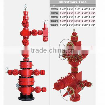 Wellhead X Mas Tree Oil Drilling And Producting System Christmas