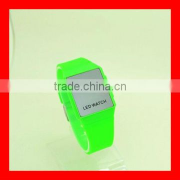 Kids Touch Screen LED watches, Put your own logo watches LED