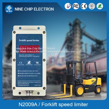 Top speed limiter & forklift overspeed alarm