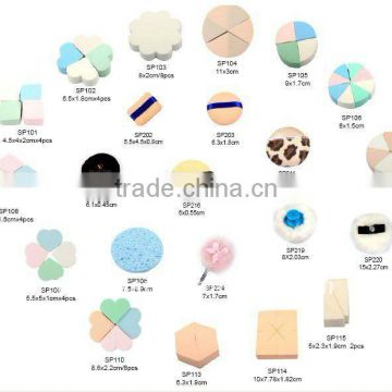 Cosmetic cellulose sponge latex sponge non latex sponge