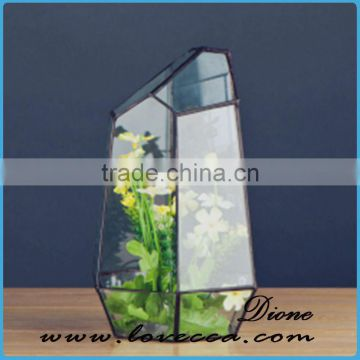 Decorative Indoor plant holder terrarium glass large