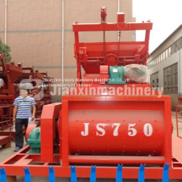 Jianxin concrete mixer types and supply