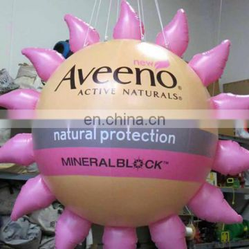 Custom Inflatable Advertising Balloons inflatable sun balloon