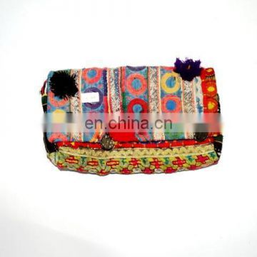 ladies gift for wedding , evening clutch bag ,banjara gypse bag CB-64
