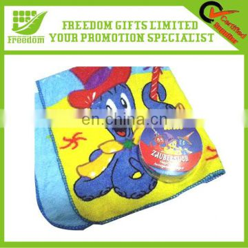 Reactive Print Promotional Compressed Towel