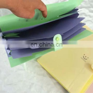 China Manufacture pp file bag with pockets