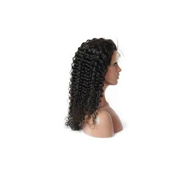 Deep Curly 10-32inch Virgin Human 16 18 20 Inch Hair Weave Chocolate Double Drawn