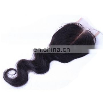 Wholesale price top grade lace closure brazilian hair lace closure 100% real human hair products