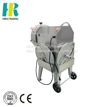 150kg Weight and 700X460X860mm Dimension(L*W*H) Industrial vegetable fruit slicing machine