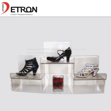 acrylic retail shoes display