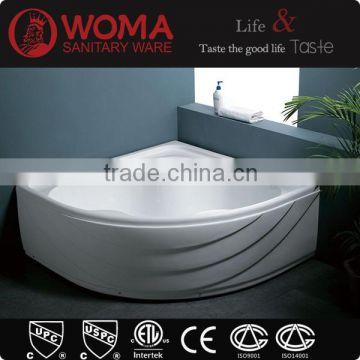 Corner Bathtub 1400mm Custom Size Acrylic Hot Tub