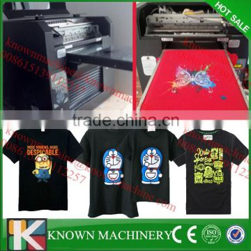 Cheap price digital t-shirt printing machine/used t-shirt