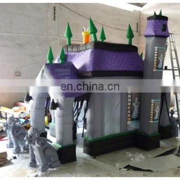Inflatable halloween house