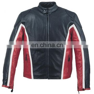 HMB-0404D LEATHER MOTORBIKE JACKETS MOTORCYCLE BIKER COATS