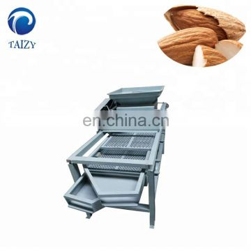 Taizy commercial nut shell cracking machine /almond/walnut shell kernel separator