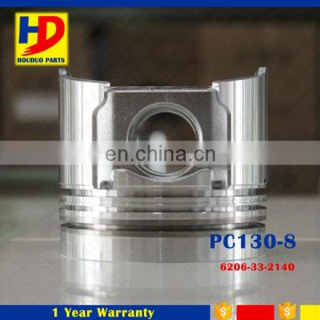 PC130-8 4D94 Engine Piston For Small Excavator 6206-33-2140