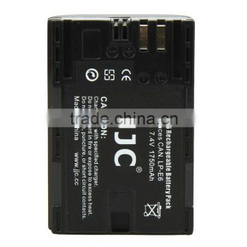 JJC for Li-ion Battery B-LPE6 for Canon for EOS Battery