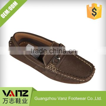 OEM ODM Service Hot Style PU Leather Leisure Designer Loafers For Boys Casual Shoes