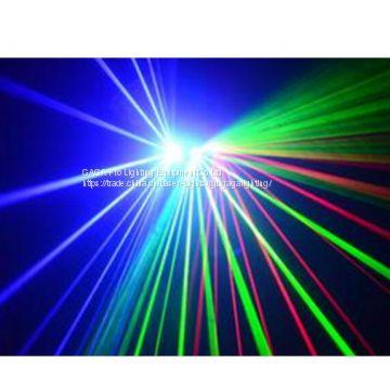 RGB 4000MW DIY Mini Outdoor Laser Light Animation Show Laser