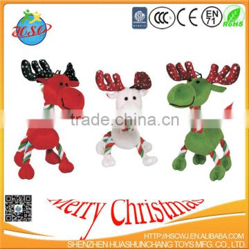 high quality plush toys christmas deer